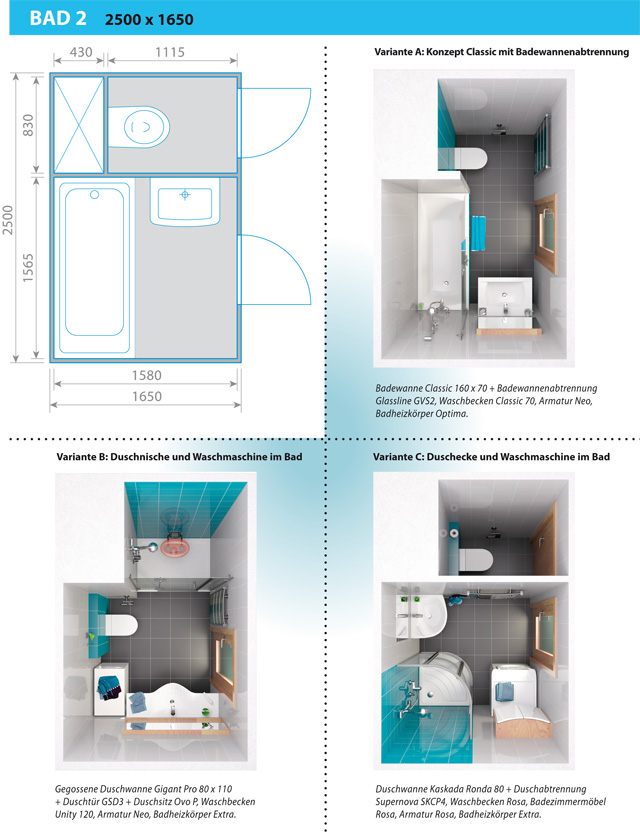 kleines badezimmer gr er wirken lassen. Black Bedroom Furniture Sets. Home Design Ideas